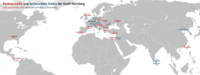 Twin towns/sister cities and associated cities of Nuremberg