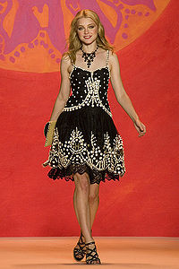 Stam at the Anna Sui Show 2009