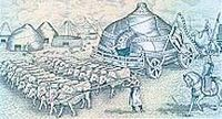 """Mongolian ordos (palaces) were likened to """"cities on the move"""" (Plano Carpini)."""