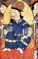 Altan Khan (1507–1582) founded the city of Hohhot, helped introduce Buddhism and originated the title of Dalai Lama