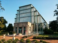 The Jewel Box, a greenhouse and event venue in Forest Park