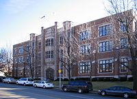 St. Louis University High School was founded in 1818. Their current building pictured here was built in 1924.