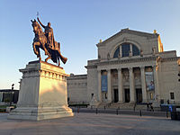 The St. Louis Art Museum in Forest Park