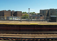 Middletown Road subway station on the