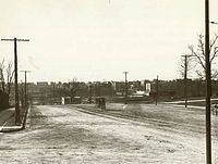 Grand Concourse and 161st Street as it appeared around 1900