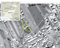 CIA aerial photo of the compound