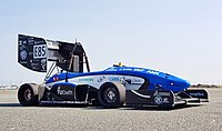 The 2017 Formula Student electric race-car of the Delft University of Technology