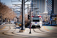 UTA TRAX services the university and other parts of Salt Lake City