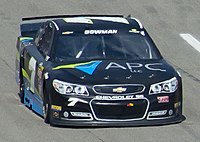 Bowman's 2015 Cup Series car