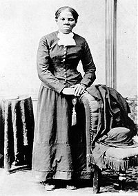 Harriet Tubman is included in the Episcopal Calendar of Saints. Picture is from 1880.