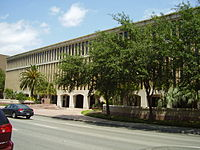 Offices for Stanford Financial Group in Houston – This building formerly had the headquarters