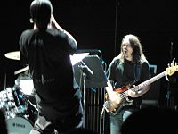 Moonchild at the Barbican: Mike Patton (facing away) and Trevor Dunn