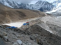 Gorak Shep is about a three-hour walk to South EBC (Everest Base Camp).