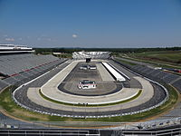 Martinsville Speedway, the track where the race was held.