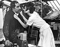 Hepburn and Hugh Griffith in How to Steal a Million (1966)