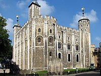 The White Tower dates from the late 11th century.