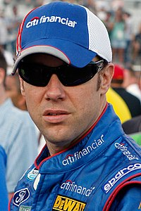 Matt Kenseth (pictured in 2009) remained the points leader with 760 points, after finishing eighth in the race.