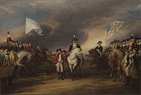 Surrender of Lord Cornwallis by John Trumbull The siege of Yorktown ended with the surrender of a second British army, marking effective British defeat.