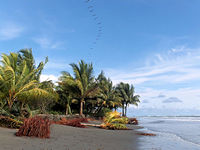 Ladrilleros Beach in Colombia on the coast of Chocó natural region
