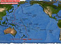 The island geography of the Pacific Ocean Basin