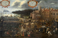 Expulsion of the Moriscos from Valencia Grau by Pere Oromig (1616)