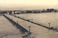 Image of the 1957 flood