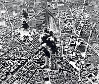 Bombing of the city by the Italian Aviazione Legionaria (1937) during the Spanish Civil War