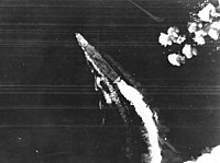 under attack by B-17 Flying Fortress heavy bombers