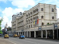 The Grand Hotel in Kolkata. Tourism, especially from Bangladesh, is an important part of West Bengal's economy.