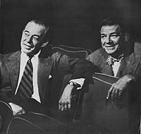 Rodgers (left) and Hammerstein