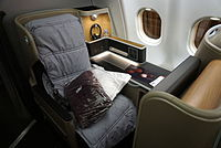 Qantas Business Suite on all Boeing 787, Airbus A330-300 and selected Airbus A380 aircraft.