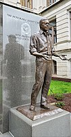 Statue of Jimmy Carter