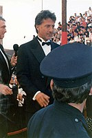 Hoffman at the 61st Academy Awards, 1989