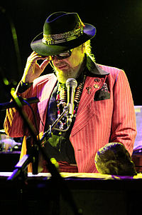Dr. John performing at Le Poisson Rouge, New York City, 2011.