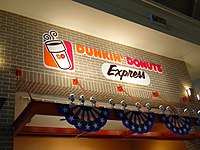 The Dunkin' Donuts Express located in Midway International Airport.