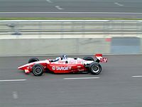 Dixon in his first year with Chip Ganassi Racing in CART.