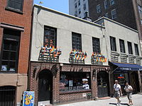 The Stonewall, a bar in part of the building where the Stonewall Inn was located. The building and the surrounding streets have been declared a National Historic Landmark.