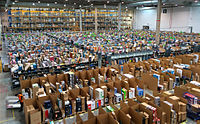 Amazon.es fulfillment center in San Fernando de Henares, Spain