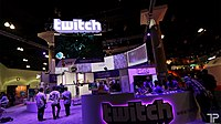 Twitch at the Electronic Entertainment Expo.