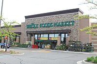Whole Foods Market store in Ann Arbor, Michigan