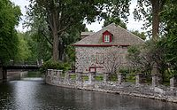 Trading Post on the Lachine Canal.