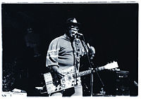 """Bo Diddley's """"Bo Diddley beat"""" is a clave-based motif."""
