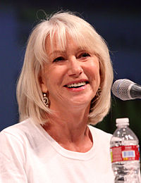 Mirren at the 2010 Comic Con in San Diego