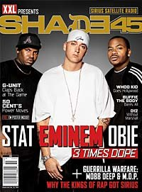 Magazine cover of XXL Presents Shade 45