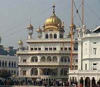 Bhindranwale and his followers occupied Akal Takht in December 1983