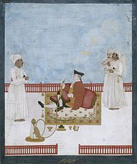 Company painting depicting an official of the East India Company, c. 1760