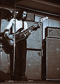 McVie with Fleetwood Mac, 18 March 1970