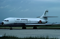 An Air Afrique Caravelle standing at Le Bourget Airport in 1977. A third aircraft of the type was delivered in 1971.