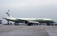 A Douglas DC-8-30 at Euroairport in 1978. The DC-8 entered the fleet in 1963.