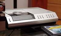 Philips CD-100, the second ever commercially released CD player (after partner Sony's CDP-101)